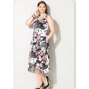 Avenue Hi Low Floral Dress Size 26/28